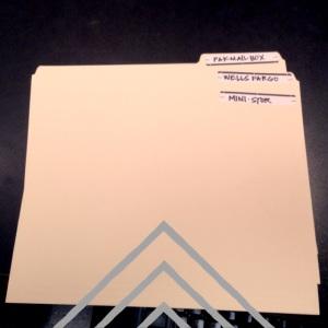 organizing folders